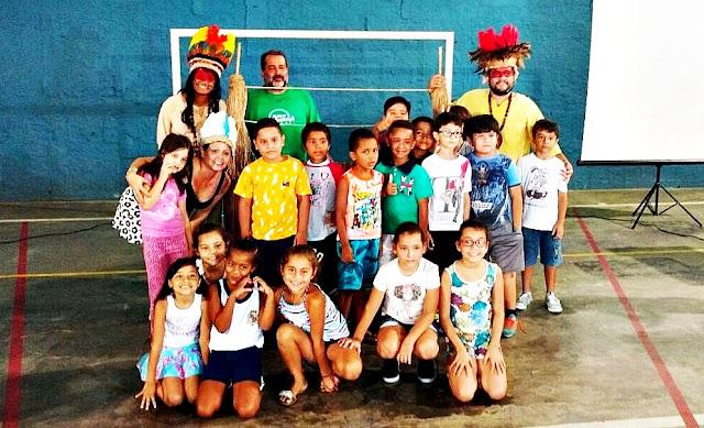 Escola Municipal  de Iguape recebe espetáculo premiado