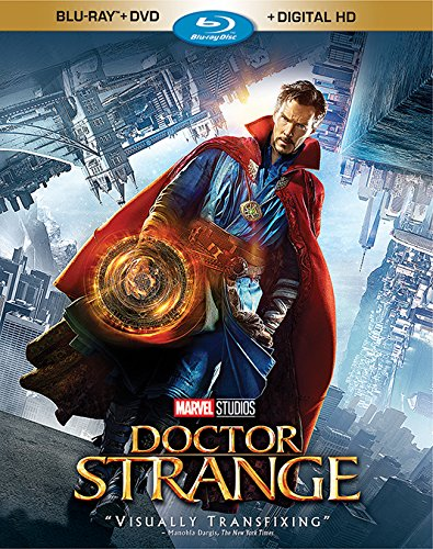 The newest Marvel film is out! See our review of Doctor Strange, available on Blu-ray, DVD, and Digital HD.