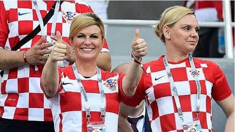 La bella presidenta de Croacia le da la razón a López Obrador… si AMLO disfrutara el futbol, sería más feliz.