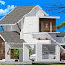 Mixed roof contemporary 3 BHK house 1260 sq-ft