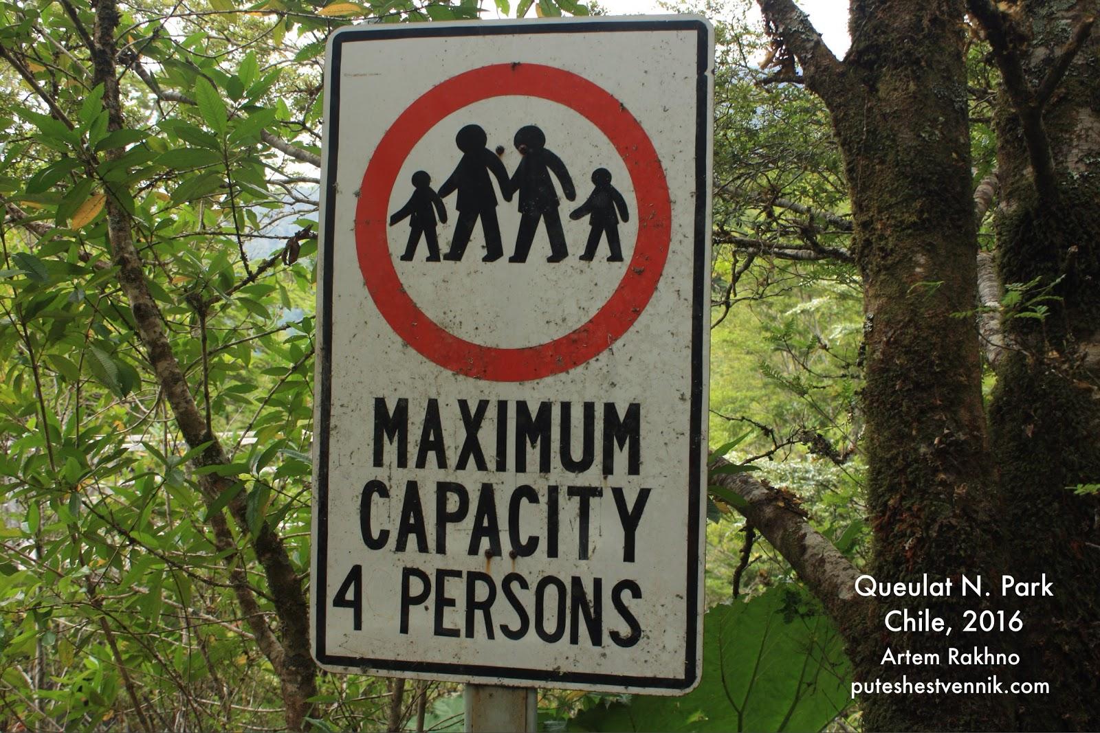 Ограничение допустимого количества людей на мосту