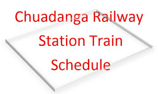 Train Schedule from Chuadanga Railway Station