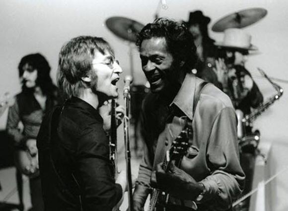 Resultado de imagen de Chuck Berry & John Lennon (1972) HQ