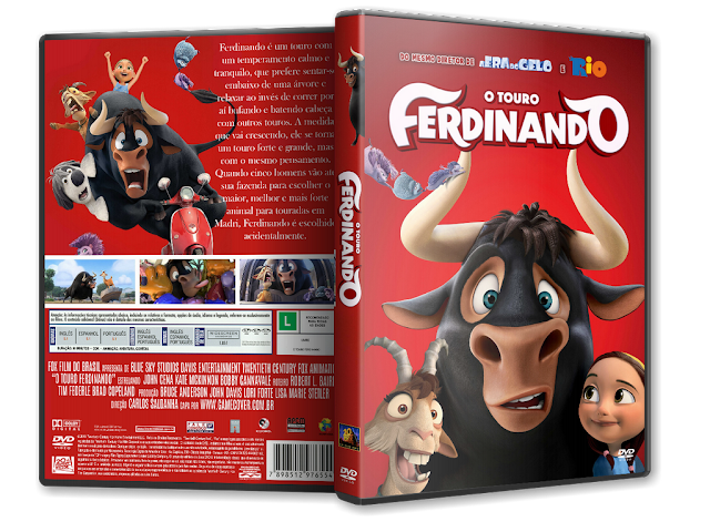 Capa DVD O Touro Ferdinando [Exclusiva]