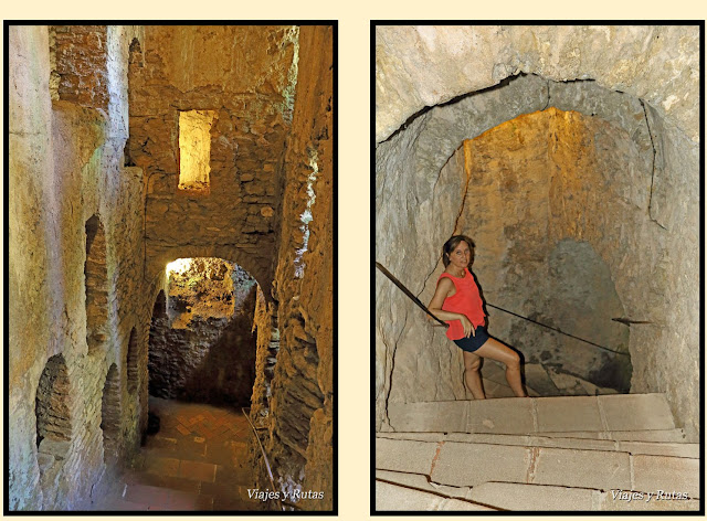 Túnel  de la casa del rey moro de Ronda