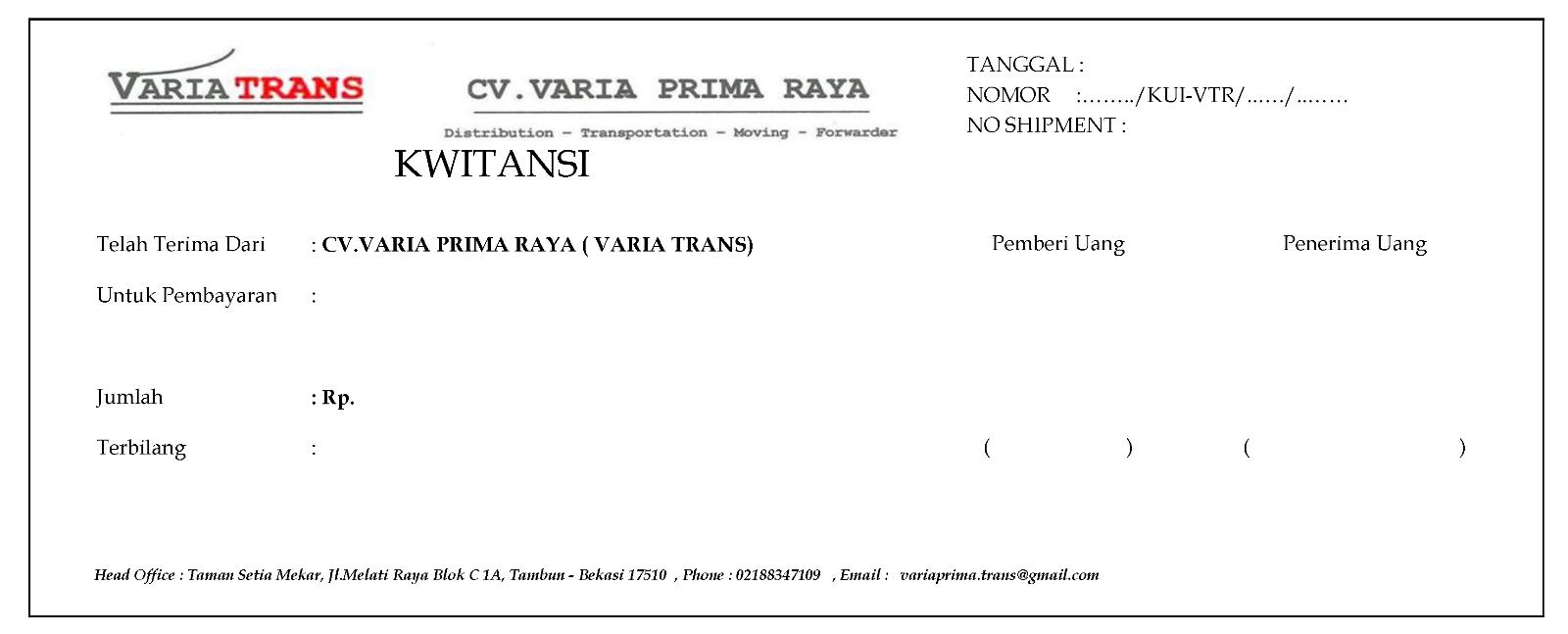 Contoh Invoice Jasa Service Apotek D