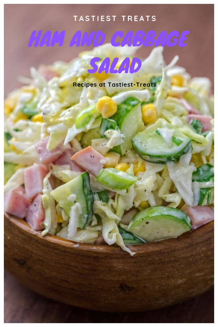 Ham and Cabbage Salad