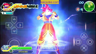[25MB] MOD Dragon Ball Z (Goku Ultra Instinct) di Dragon Ball TTT PPSSPP Android
