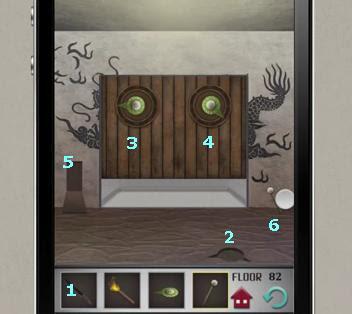 100 Floors Level 82 Game Solution