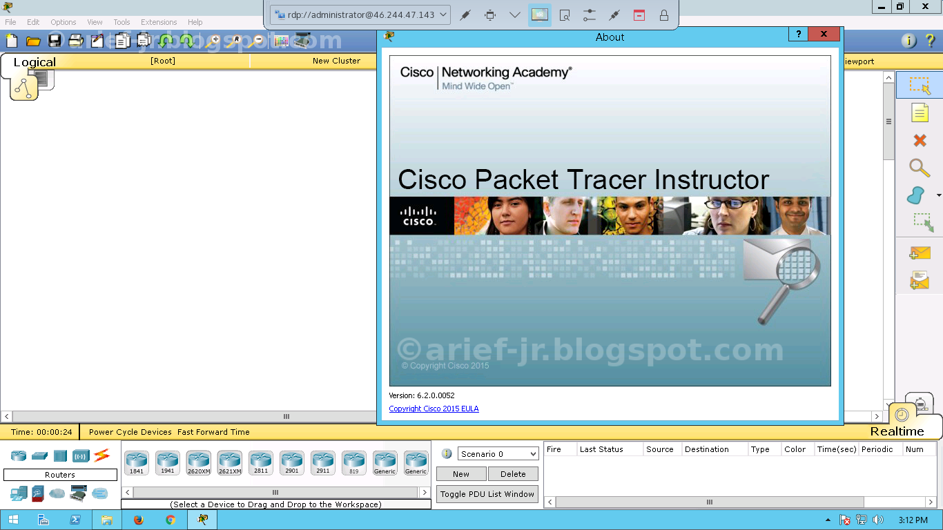 netacad cisco packet tracer
