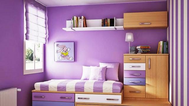 Pernah terfikir membuat tempat tidur multifungsi dengan lemari pakaian, namun belum kesampaian. Ada baiknya menyimpan contoh tempat tidur ini agar kelak ketika kondisi sudah memungkinkan, anda cukup memperlihatkan konsep tempat tidur multifungsi ini kepada pembuat atau penjual furniture.