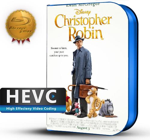 Christopher Robin (2018) 1080P HEVC-8Bits BDRip Latino/Ingles(Subt.Esp)(Aventura)