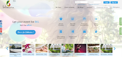 Blisaura – An Online Portal To Plan and Execute Your Social Event