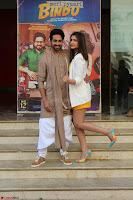 Parineeti Chopra with Ayushmann Khurrana at the Launch of Trailer of Meri Pyaari Bindu 031.JPG