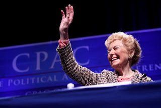 Pro-Life author, commentator and activist, Phyllis Schlafly