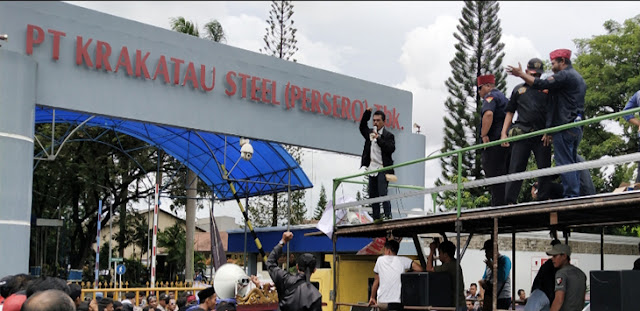 Bos Krakatau Steel Ditangkap KPK di Kawasan BSD City
