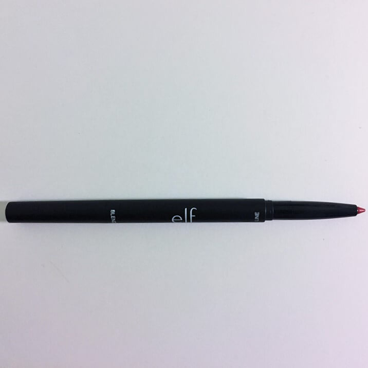 e.l.f. Lip Liner & Blending Brush Dark Red