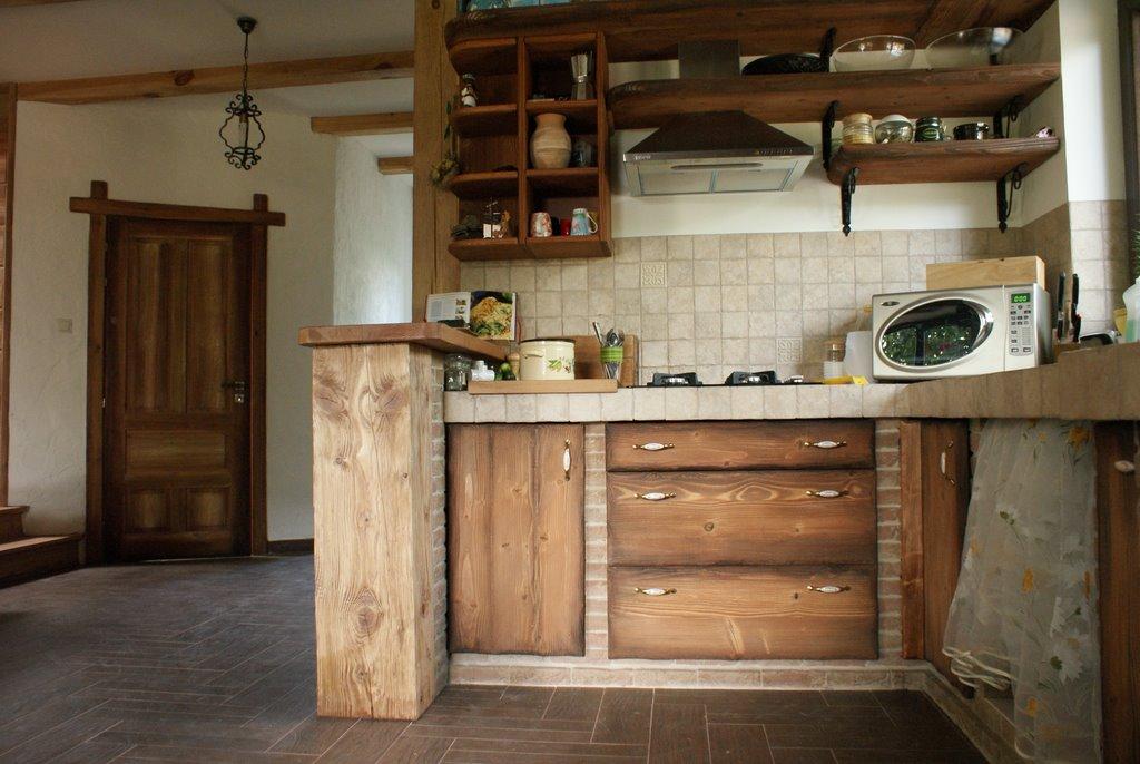 Kuchnia w rustykalnym stylu  Pasiasty Stworek  pracownia sztuki niewielkiej -> Kuchnia W Stylu Rustykalnym Inspiracje