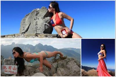 'Bikini hiker' Gigi Wu dies after ravine fall in Taiwan
