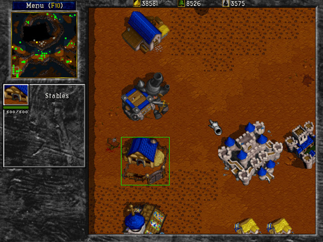 Warcraft 2 Stables Screenshot