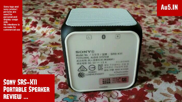 Sony SRS X11 Bluetooth Speaker Review