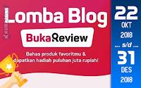 Kompetisi Blog - Buka Review BukaLapak Berhadiah Puluhan Juta Rupiah