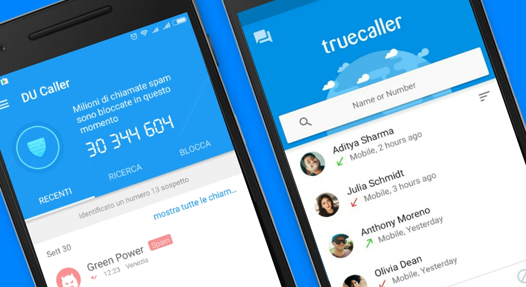 TrueCaller vs. DU Caller Review: Identify and Block Spam Calls On Android