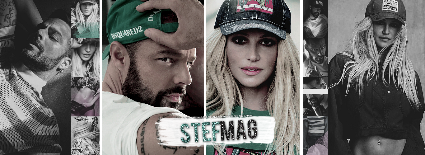 Stef Mag • Britney Spears, Ricky Martin and Ariana Grande Fan Site, Gallery and Updates!