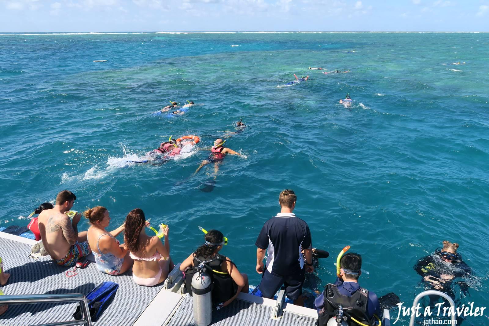 凱恩斯-大堡礁-外堡礁-推薦-公司-旅遊-潛水-浮潛-自由行-澳洲-Cairns-Outer-Great-Barrier-Reef-Snorkel-Diving-Travel-Australia