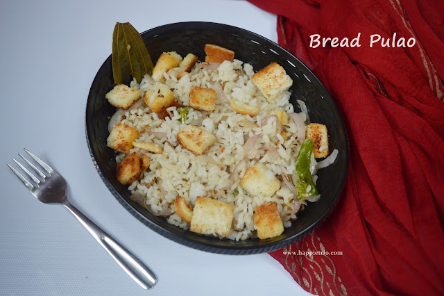 Bread Pulao Recipe