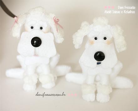 Poodles de Feltro