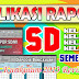 Aplikasi Rapor SD Semester 2 Kurikulum 2013 / K13 Revisi 2017