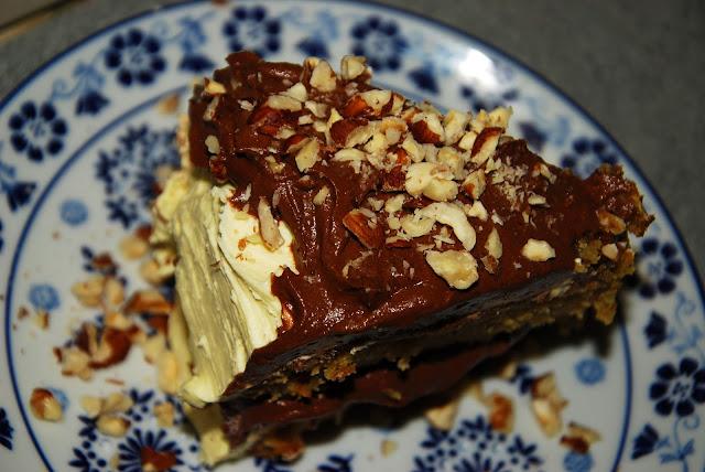 chocolate hazelnut ganache cake