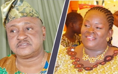 jide kosoko fell from mother's back as a baby