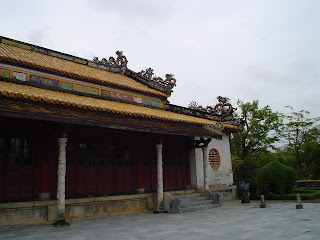 Supreme Harmony Palace. Hue Citadel