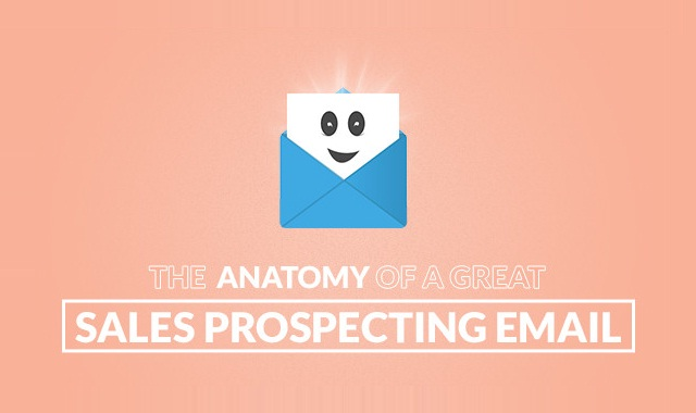 Image: The Anatomy Of A Great Sales Prospecting Email #infographic