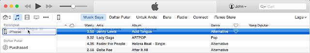 Cara menambahkan Lagu dari Komputer ke iPhone, iPad Dengan iTunes