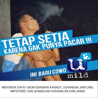 Mentahan template iklan rokok gratis