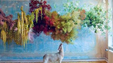 Delicado estilismo floral con Mary Lennox