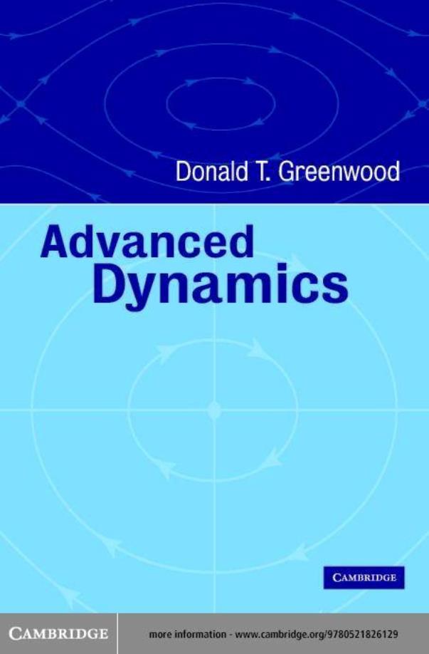Advanced Dynamics – Donald T. Greenwood