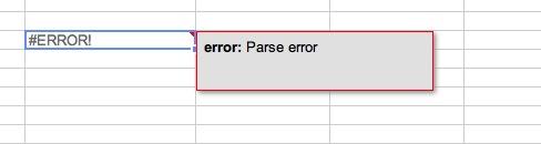 Sam's Technical Blog: Google Spreadsheet ImportRange not