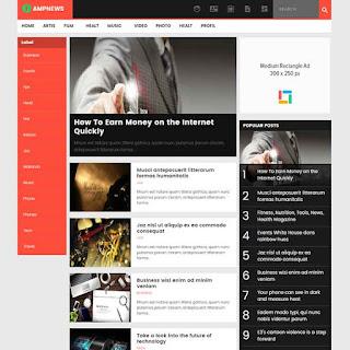 ampnews-blogspot-template-free