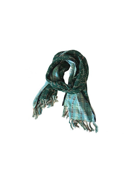 Ace & Jig Spray Scarf in Emerald