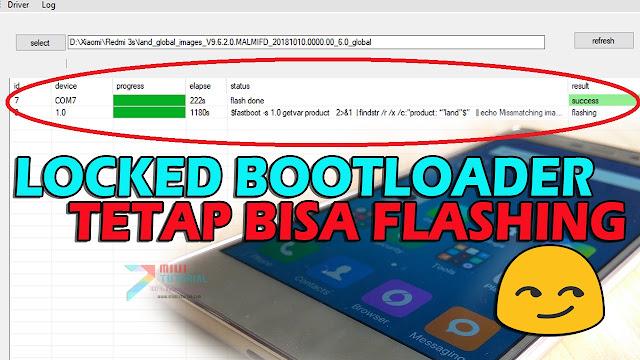 Benarkah Sekalipun Locked Bootloader Masih Bisa Flashing Rom Miui Terbaru? Tested Xiaomi Redmi 3s