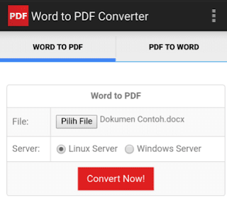 Convert PDF Android tanpa ribet