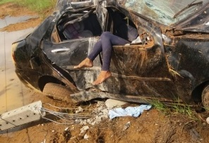 Casal morre em grave acidente hoje próximo a Humaitá; criança de 3 anos sobrevive