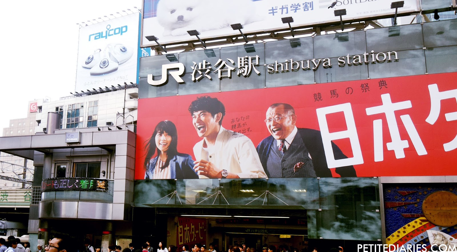 JR SHIBUYA STATION HACHIKO EXIT