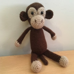 http://www.amyscrochetcave.com/2017/08/monkey.html