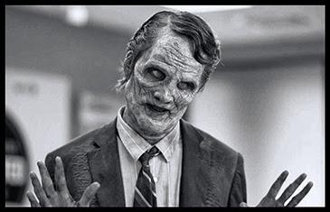 el villano arrinconado, humor, chistes, reir, satira, politico, zombi
