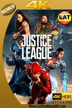 Liga de la Justicia (2017) Latino ULTRA HD BDREMUX 2160P - 2017